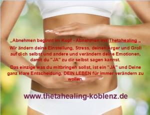 ThetaHealing-Koblenz Abnehmen, Gewichtsreduktion